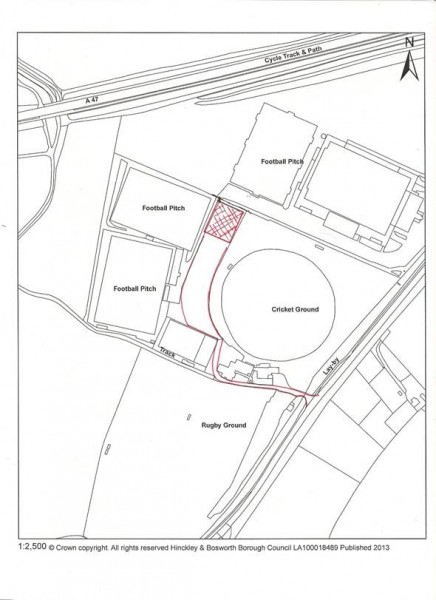 Outline Plan of Court Layout